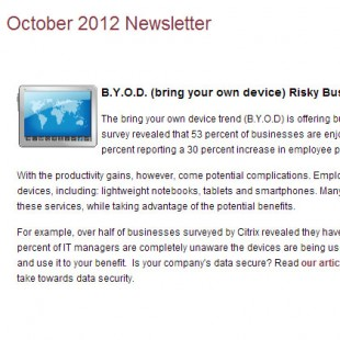 B.Y.O.D. (bring your own device) Risky Business?