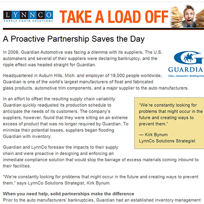 A Proactive Partnership Saves the Day