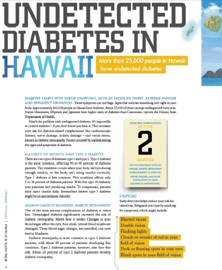 Retina Institute of Hawaii Annual Journal
