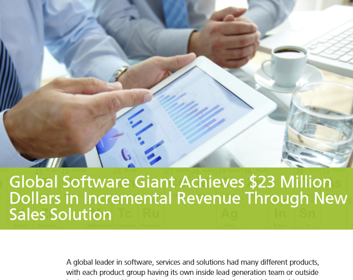 Case Study / Major Global Software Firm