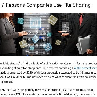 Top 7 Reasons Companies Use File Sharing